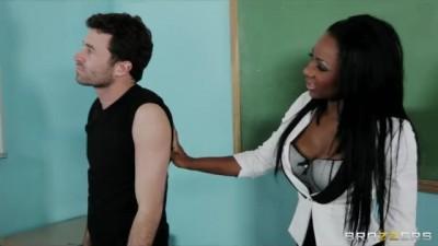 Sexy Busty Ebony Teacher hdporzo.com