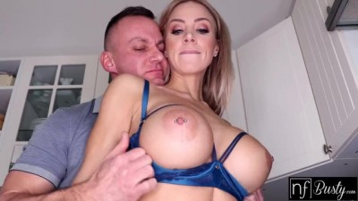 Massive Tits Blonde mum and son xvideo