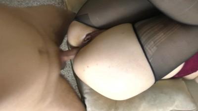 Teen schoolgirl BIg Ass anal sex