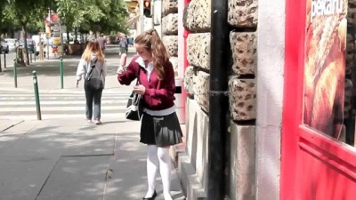 young school girl Anita Bellini in her ass and cums