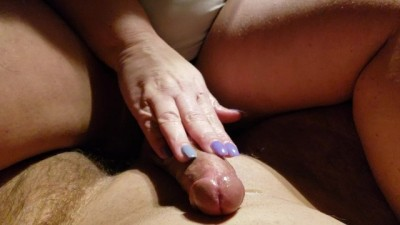 Long Nails Handjob with Urethra Play!