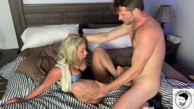 MILF Lisey Sweet ROUGH Punishment and FootJob