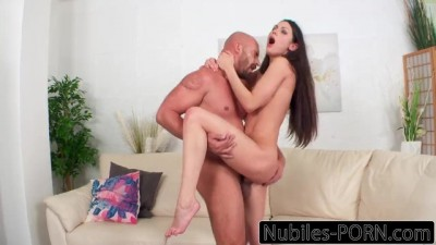Russian Babe Squirts On Big Cock