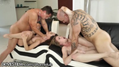 Horny Swinger Wife Caught Fucking the Neighbor