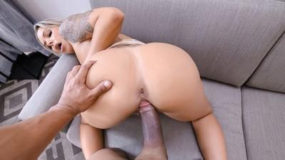 Busty Blonde Milf Blows Her Stepson