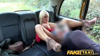 Rough fuck for sexy Hungarian MILF - Fake Taxi