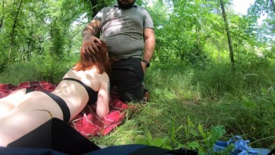 Sex in Public Park - 4K Creampie