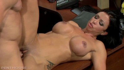 Penthouse Jewels Jade Masturbates at Work Gets Caught