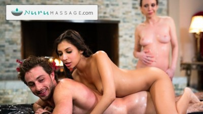 Threesome Massage Then Dirty Sex Tıme