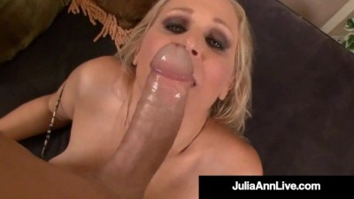 Sex Bomb Cougar Julia Ann Takes a Cock in her Mature