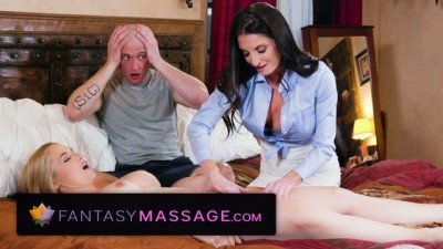 Fantasy Massage Stepmom Teacher Share Big Cock