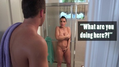 Sexy Mom Lisa Ann Fucks her Step Son & his Girlfriend Ava Taylor